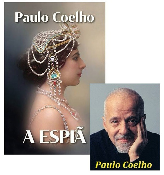 Livro Romance A Espiã - Paulo Coelho - Novo