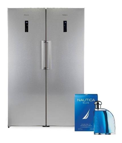 Heladera No Frost Vondom+freezer 627l+fragancia-cuotas