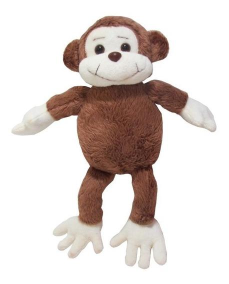 Macaco De Pelúcia Safari Mini