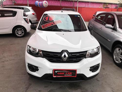 Imagem 1 de 10 de Renault Kwid 2019 1.0 12v Zen Sce 5p