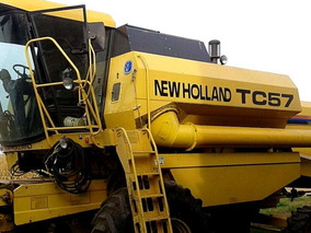 New Holland Tc 57, 4000 Hs Año 2000, 10% De Desc Sin Usado