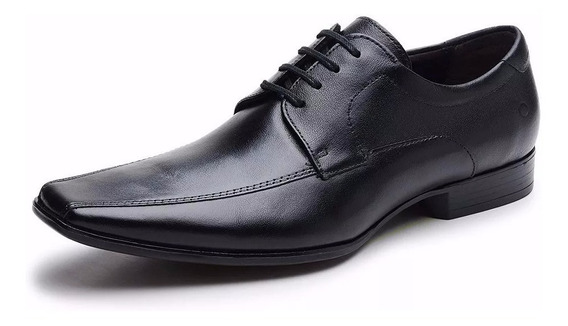 Zapato Acordonado De Cuero Democrata Hombre Premier 206285- Envio Full