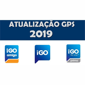 Atualização Gps Igo 2019 - Igo8, Primo, Amigo (completos)