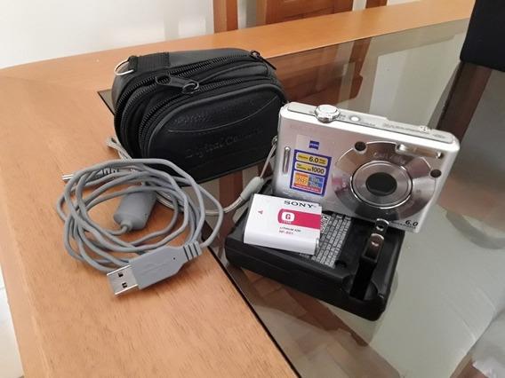 Câmera Fotográfica Digital Ciber-shot Sony Dcs-w30