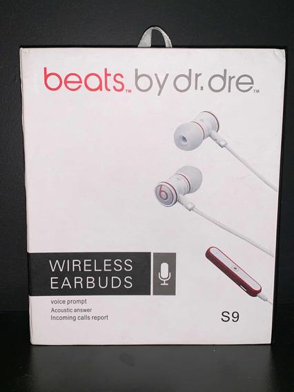 Beats S9 / Fone De Ouvido Wirelless Nunca Usado.