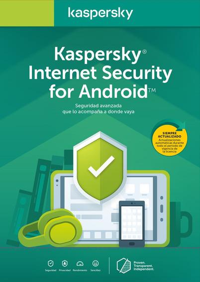 Licencia Kaspersky Internet Security Cel/tablet 1 Movil 1año