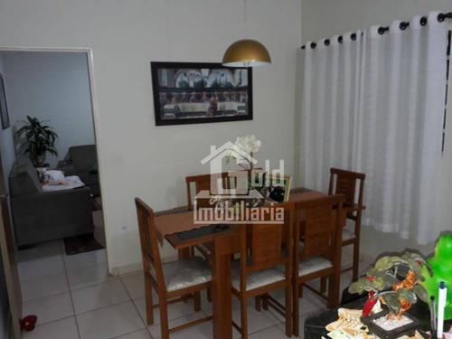Casa Com 2 Dormitórios À Venda, 140 M² Por R$ 260.000 - Parque Ribeirão Preto - Ribeirão Preto/sp - Ca1460