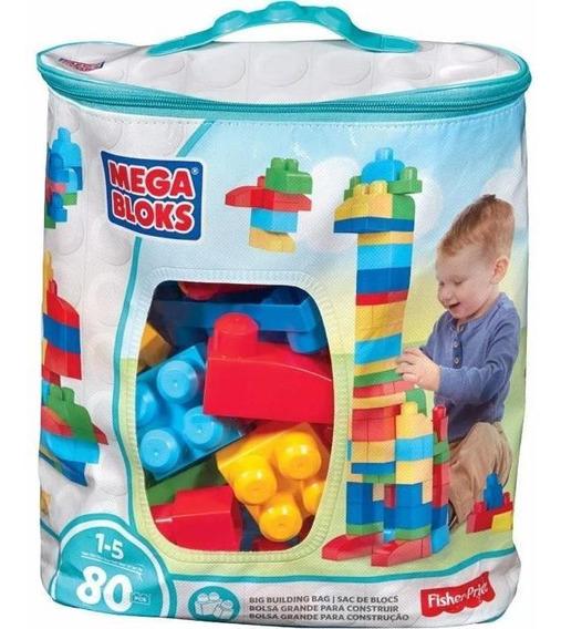 Mega Blocks Bolsa Para Construir Clásica - Original