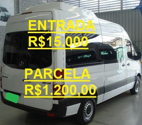 Mercedes-benz Mb Sprinter 415 Van Executiva 16 Lugares Teto