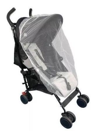 Mosquiteiro Bebê Conforto Carrinho Tela Filó Moisés Elástico