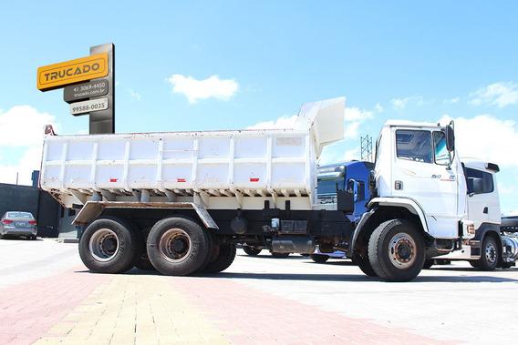 Mb 2423 2007 Truck Caçamba Pastre = M Benz Vw Volvo Iveco