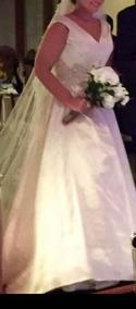 Vestido De Noiva Importado Pronovias - Tafetá Francês