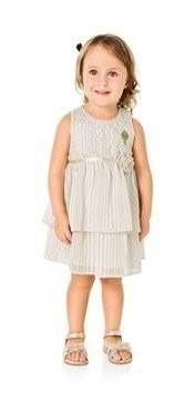 Vestido Milon De Guippir Off White 01