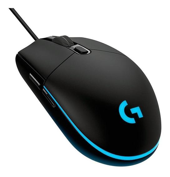 Mouse Gamer Logitech G203 Prodigy 6 Botoes, 8000 Dpi