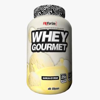 Kit 25 Unidades Whey Protein Gourmet Isolado 907g