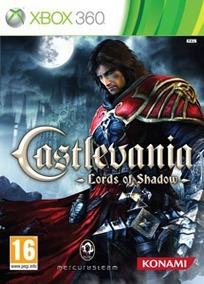 Castlevania - Lords Of Shadow - Mídia Física Original X360