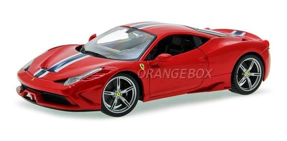 Ferrari 458 Speciale Bburago 1:18 Vermelho 16002-vermelho