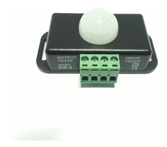Interruptor Sensor De Movimento Para Led Lâmpada 12v
