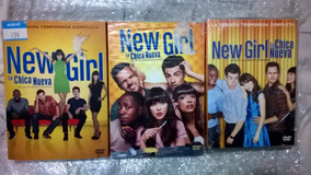 New Girl La Chica Nueva Temporadas , 1, 2 Y 3 Originales Dvd