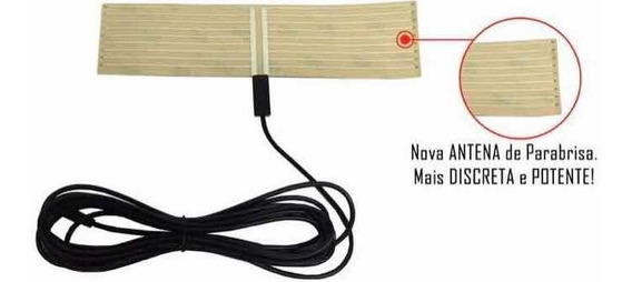 20 Antenas Para Aparelho Dvd Receptor Tv Digital Automotivo