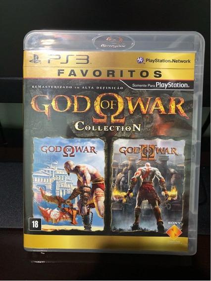 Ps3 - God Of War Collection Playstation 3 Ps3 - Favoritos