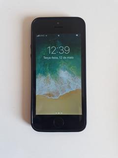iPhone 5s Preto/silver 32gb