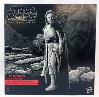 Star Wars Luke Skywalker Jedi Master Island Black Series