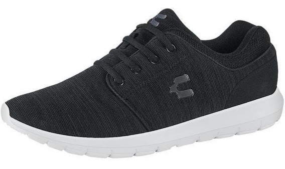 Tenis Junior Marca Charly Mod 102913 Negro