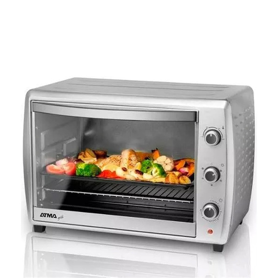 Horno Grill Electrico Atma Hg7010n Convector 70lts 1800w !!!
