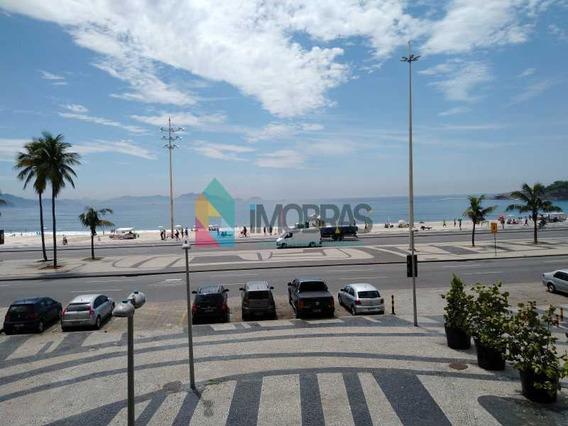 Vendo Ou Alugo Apartamento Em Copacabana Reformado Na Atlântica Frontal Vista Mar Com 3 Vagas De Garagem!! - Ap2769