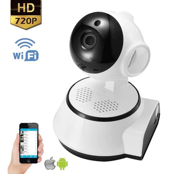 Camara Ip Wifi Inalambrica Seguridad Celular Hd Noche Nocturna Grabacion Video Memoria Micro Sd Celular Vivo Motorizada