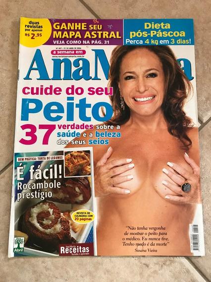 Revista Ana Maria 497 Susana Vieira Tony Ramos E Lidiane