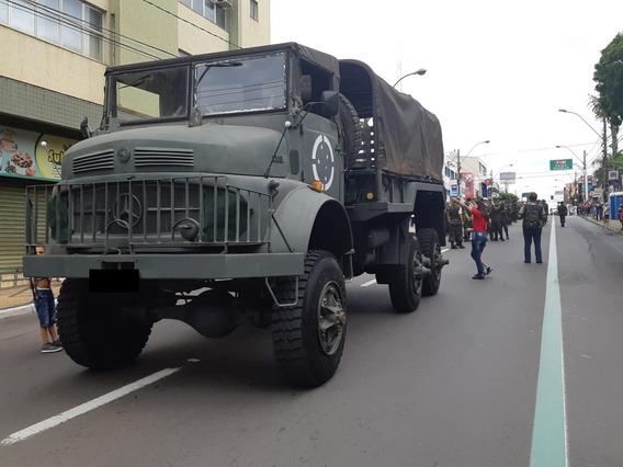 Mercedes-benz Engesa Mb L-1519 Boomerang Mamute Militar 6x6