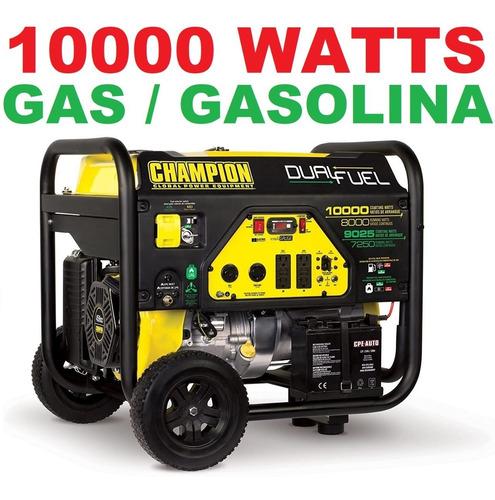 Imagen 1 de 2 de Planta De Luz 10000 Watts Gasolina Gas Lp Generador De Luz
