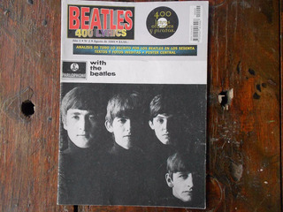 Revista 400 Lyrics N° 2 With The Beatles Poster Paul