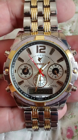 Relógio Potenzia Ponteiro Digital Kit C/ 3 Relógios