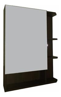Mueble Organizador De Baño Con Espejo Y Estantes Movibles