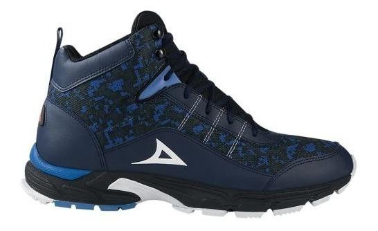 Bota Hiker Pirma Brasil 381 Azul Marino Urb 159417