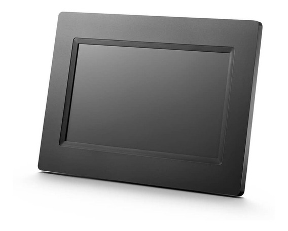 Porta Retrato Digital Portátil Lcd 7 Pol. Multilaser - Sp260