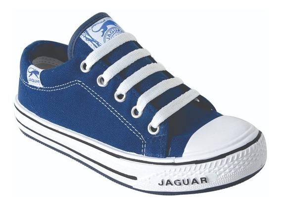 Zapatillas Lona Dama Hombre Unisex 34 Al 45 Jaguar (320)