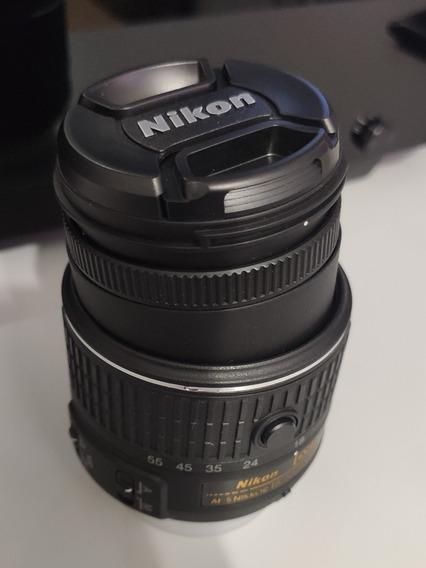 Lente Nikon Af-s Dx 18-55mm F/ 3.5-5.6g Vr Defeito