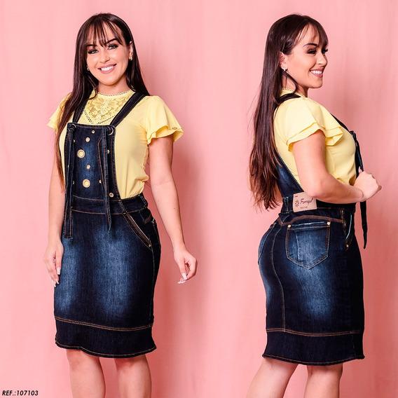 Salopete Jeans Longuete - Frt