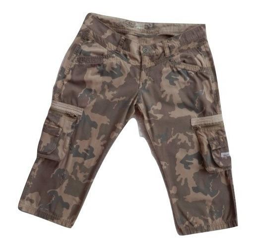 Remate De Pantalon Capri Inside Estampado Militar