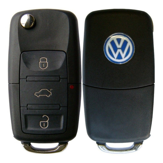 Chave Canivete Vw Completa G5 Gol Polo Fox Voyage