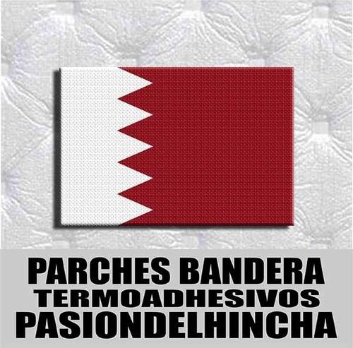 Parche Termoadhesivo Bandera De Bahrein