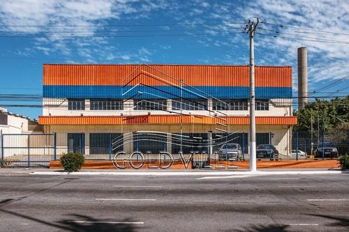 Ga4813 - Alugar Galpão Comercial Na Vila Leopoldina Com 4.600 Metros De Terreno, 4.536 Metros De Galpão E 8,5 Metros De Pé Direio, Estacionamento - Ga4813 - 68108649