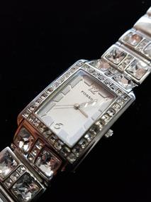 Relógio Feminino Fóssil Original Swarovski Semi Novo