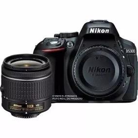 Nikon D5300 + Lente Af-p 18-55mm + Mini Tripé+32gb