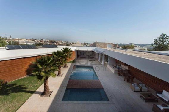 Casa Residencial À Venda, Alphaville Campinas, Campinas. - Ca3248