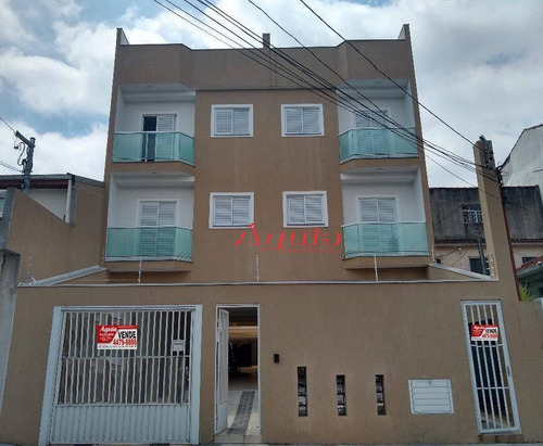 Cobertura Com 2 Dormitórios À Venda, 52 M² Por R$ 320.000,00 - Vila Lucinda - Santo André/sp - Co0726